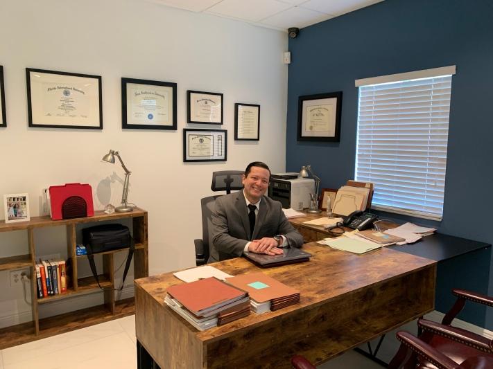 Harold Caicedo, abogado y mediador.